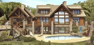 log home floor plans with basement cabin plans log home the plan collection