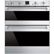 buy smeg dusf636x electric built under double oven stainless