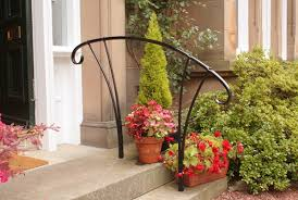 Handrail For Two Steps Simple Elegant Handrail To Two Steps At Front Door Private House