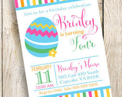 Easter Egg Decorating Party Invitations by Easter Invitation Etsy