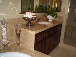 Bathroom Vanity Countertops Ideas by Brown Granite Bathroom Vanity Tops Brightpulse Us