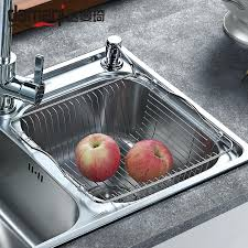 kitchen sink rack stainless steel stainless steel sink drain basket drain vegetables baskets trays basket rack