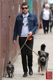 zachary quinto in nyc tom lorenzo