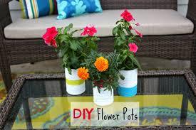 decorating cents diy flower pots