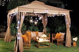 Gazebo Ideas For Backyard Outdoor Lighting For Gazebos Back Yard Patio Ideas With Gazebo