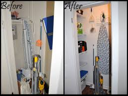 closet simple storage design ideas with broom closet organizer