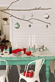 christmas dining table ideas dining hall decoration mid century