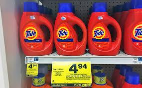 tide u0026 gain liquid detergent only 2 94 each at rite aid the