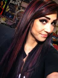 black red and purple bright hair color my hairr pinterest