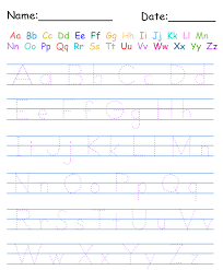 collections of printable kindergarten worksheets alphabet