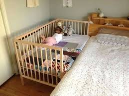 Side Crib For Bed Side Crib Attached To Bed Cribs That Attach To Side Of Bed Baby