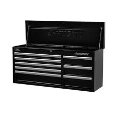 husky 27 in 8 drawer tool chest and cabinet set husky 41 in 8 drawer tool chest black drawers organizing and