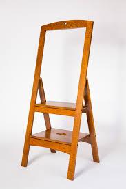 folding step stool u2014 dcw woodworks