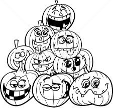 halloween pumpkin coloring sheets happy halloween pictures 2017