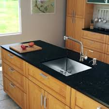 Faucet And Soap Dispenser Placement Stainless Steel Kitchen Sinks You U0027ll Love Wayfair