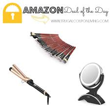 amazon deal of the day anjou makeup brushes 24 pieces just 5 59
