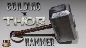 how to make thor s hammer diy costume youtube