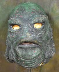 famous halloween monsters don post creature from the black lagoon mask 1 toyranch flickr