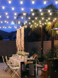 String Lighting For Patio How To String Patio Lights Unique String Lights With Timer