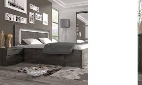 chambre adultes compl鑼e chambre adulte complete couleur chene noir contemporaine darcia