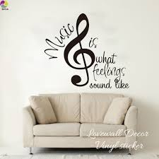 popular baby wall quotes decals buy cheap baby wall quotes decals music is what feeling sound like quote wall sticker baby nursery living room music note inspiration