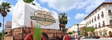 The Villages Florida Map The Villages Spanish Springs Town Square