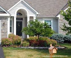 Front Porch Landscaping Ideas by Lewis Center Ohio Porch Designs Yard Landscaping And Front Porches