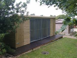 the wrangle double dog kennel