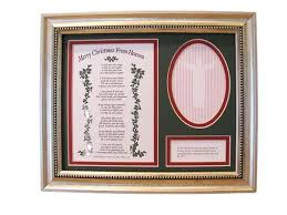 merry christmas from heaven remembrance store merry christmas from heaven frame koch