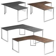 Schreibtisch Kufen Röhr Schreibtisch Imperia Grau L Form Zum Schnäppchenpreis Bei