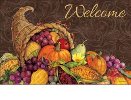 outdoor thanksgiving harvest matmates doormat
