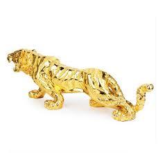 bureau om de nieuwe europese meubileringsartikelen tijger vergulde versierd