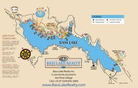 Sacramento Ca Map Bass Lake California Map California Map