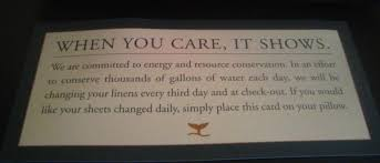 a simple message saves water sparq