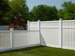 pvc fencing garden decorative wholesale hollow core fencing