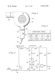 patent us4327278 simplified multiple speed hair dryer google