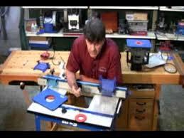 kreg prs1045 precision router table system kreg precision router table system presented by woodcraft youtube