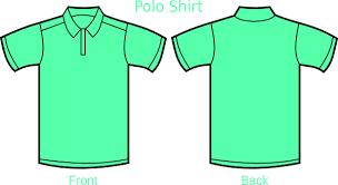 light green polo shirt mint green polo shirt clip art at clker com vector clip art online