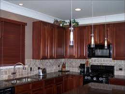 Kitchen Cabinet Molding by Kitchen Crown Molding Over Kitchen Cabinets Cabinet Top Moulding