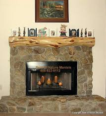 how to build a rustic fireplace mantel shelf log oak diy kettle
