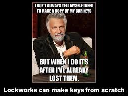 Car Keys Meme - lockworks home facebook