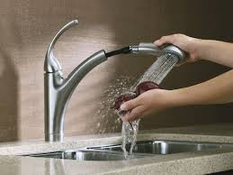 brushed nickel kitchen faucets kohler elliston faucet brushed nickel