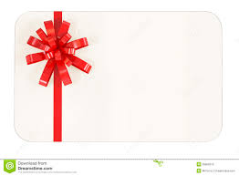 blank gift card stock photography image 26606312