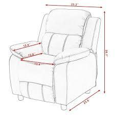 kids recliner sofa costway kids recliner sofa armrest chair couch lounge children