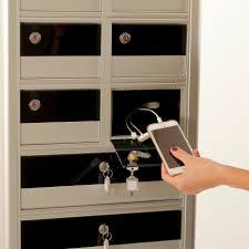 Charging Shelf Mobile Phone Charging Station Secure Totem Varbox Srl