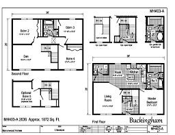Floor Plans For 2 Story Homes by Manorwood Two Story Homes Buckingham Mh403a Find A Home