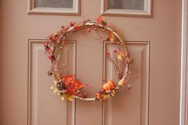 diy autumnal wreath linkup mommy like whoa