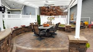 outdoor patios landscaping design forever green iowa city