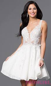 white dresses jvn by jovani lace homecoming dress promgirl