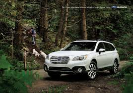 tan subaru outback subaru ads of the world